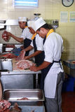 Chef-koks stock afbeelding