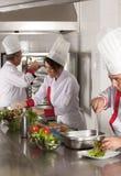 Chef-koks Stock Foto