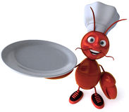 Chef lobster Royalty Free Stock Images