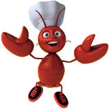Chef lobster Royalty Free Stock Photos
