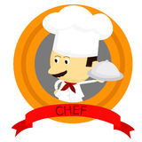 Chef Logo Royalty Free Stock Photo