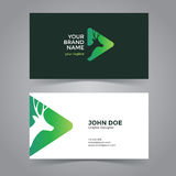 Chef Logo Design Template de cerfs communs Photo stock