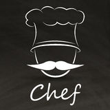 Chef logo Royalty Free Stock Photography