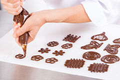 Chef making figures Stock Image
