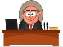Chef- Man Smiling Stock Afbeeldingen