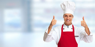 Chef man. Royalty Free Stock Image