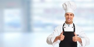 Chef man. Stock Image