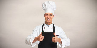Chef man. Royalty Free Stock Photography