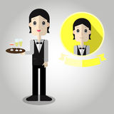 Chef Mascot cartoon great for any use. Vector EPS10. Royalty Free Stock Photos
