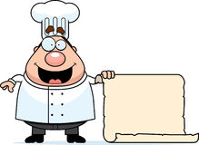 Chef Menu Stock Photography