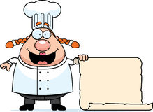 Chef Menu Royalty Free Stock Photography