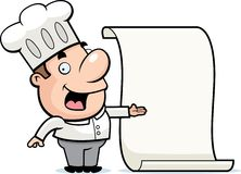 Chef Menu Royalty Free Stock Image