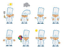 Chef minuscule Basic illustration stock