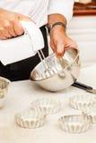 Chef with mixer Stock Photos
