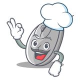 Chef mouse character cartoon style Royalty Free Stock Photo