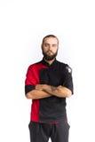 chef Odizolowywający nad białym tłem obrazy stock