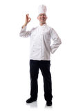 Chef ok Royalty Free Stock Images