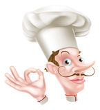 Chef Perfect Sign Lizenzfreies Stockfoto