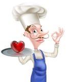 Chef Perfect Sign de coeur Photo libre de droits