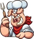 Chef Pig Lizenzfreie Stockfotos