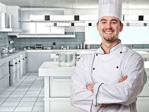Chef portrair Royalty Free Stock Image