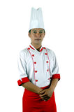 Chef portrait. Isolated on white background Stock Photo