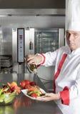 Chef portrait Stock Image