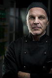 Chef portrait with arms crossed Stock Images