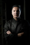 Chef portrait with arms crossed Royalty Free Stock Photo