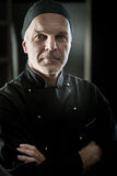 Chef portrait with arms crossed Royalty Free Stock Photos