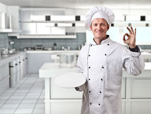 Chef portrait Royalty Free Stock Photography