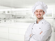 Chef portrait Stock Image