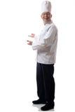 Chef presenting Stock Image