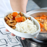 Chef presents curry pork Stock Image
