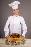 Chef Presents Roast stock photo