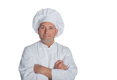 Chef smiles Stock Photos