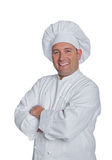 Chef smiles Stock Images