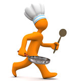 Chef Running Stock Images
