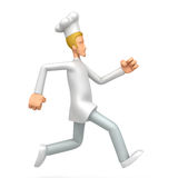 Chef runs Stock Images