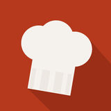 Chefs hat. Symbol abstract background Royalty Free Stock Photography