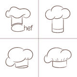 Chef's hats Stock Photography