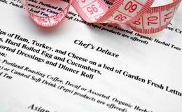 Chef's menu Stock Photos