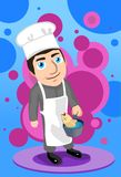 The Chef's Secret Recipe For Boiled Fish Royalty Free Stock Photo