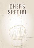 Chef's Special Royalty Free Stock Photography