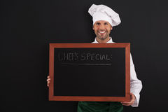 Chef's special Royalty Free Stock Image