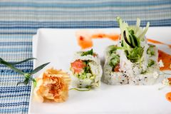 Chef S Special Roll Royalty Free Stock Image