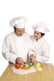 Chef School - Encouragement Royalty Free Stock Image