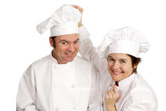 Chef Series - Friendship Royalty Free Stock Images