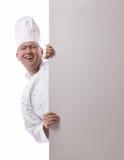 Chef side peep Royalty Free Stock Photos