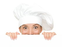 Chef Sign Stock Images